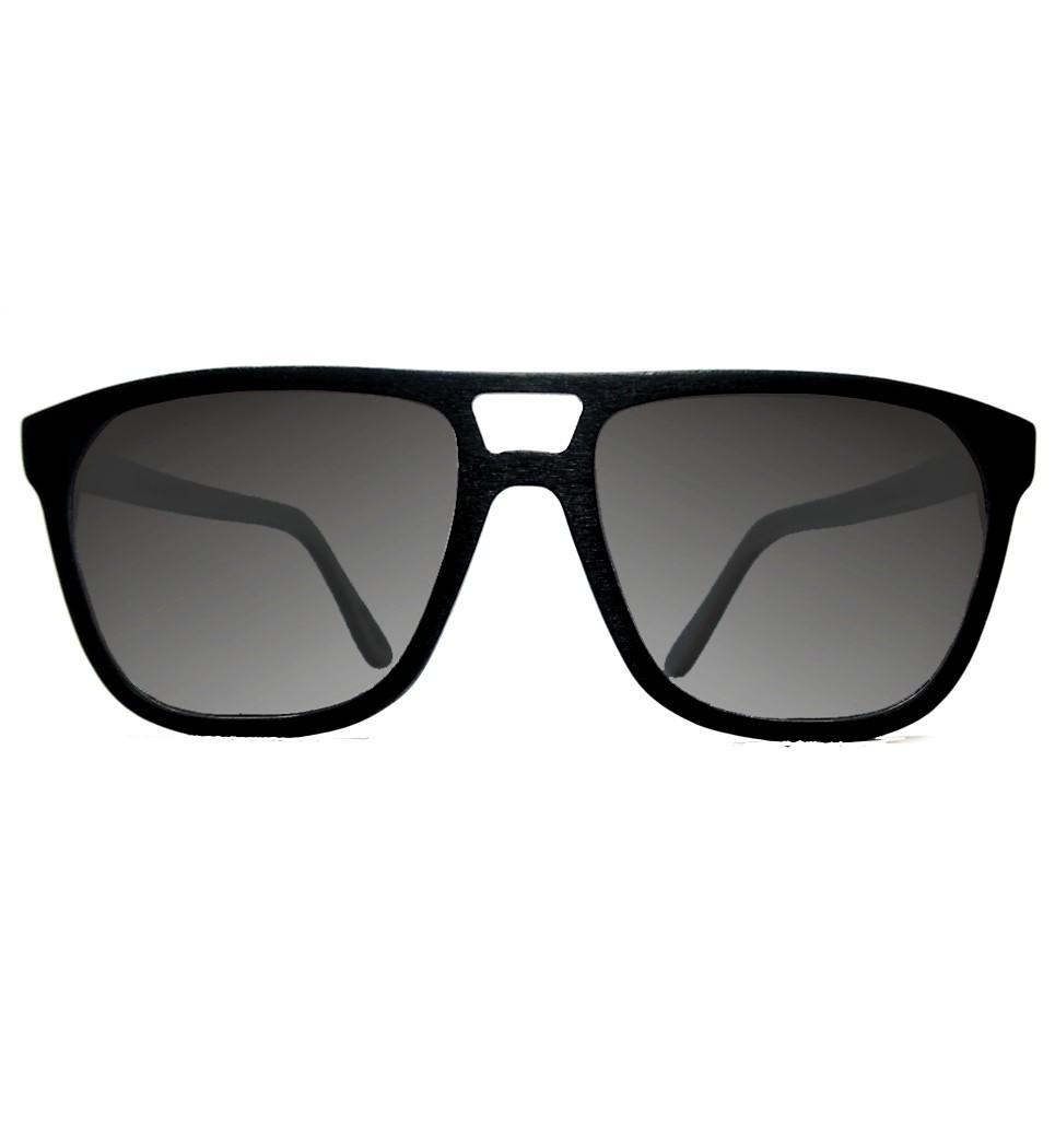 Ξύλινα Γυαλιά Justin in Black Tulip