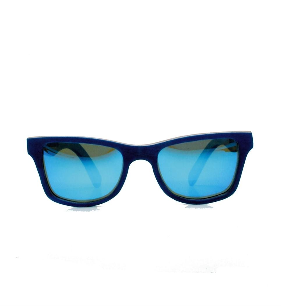 Ξύλινα Γυαλιά Gandy in Blue Tulip