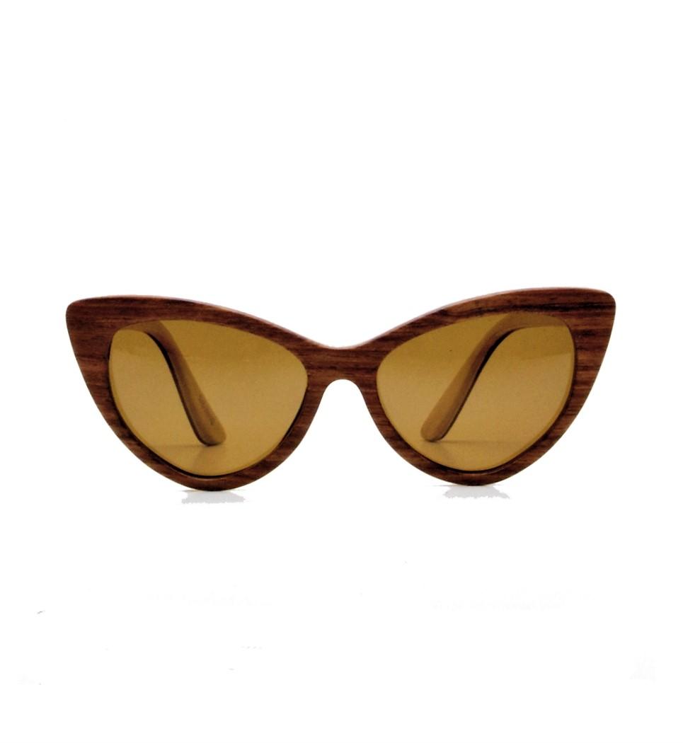 Ξύλινα Γυαλιά Rita in Bubinga