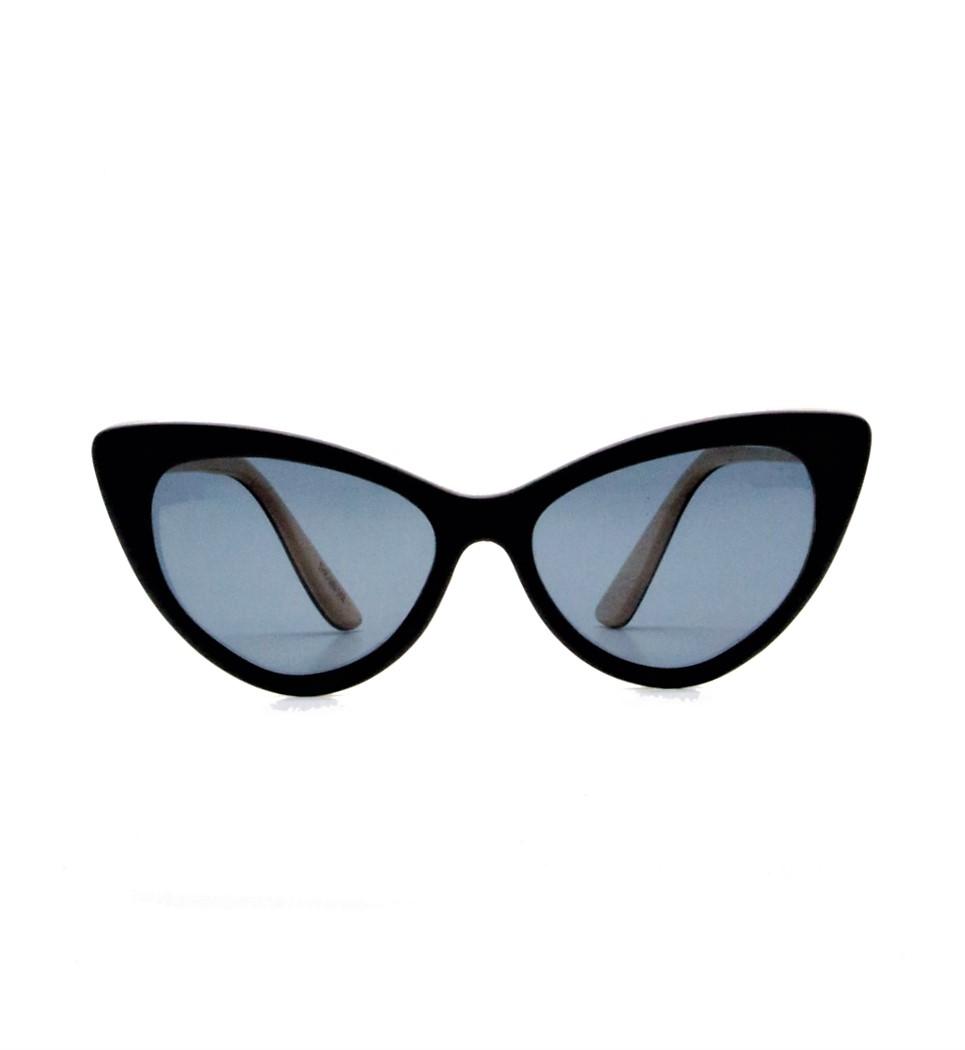 Ξύλινα Γυαλιά Rita in Black Tulip