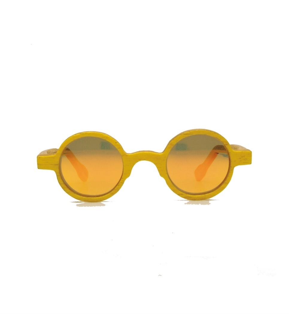 Ξύλινα Γυαλιά John in Yellow Tulip