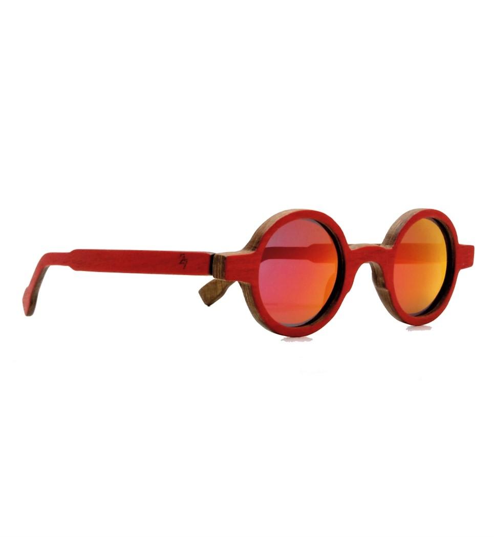 Ξύλινα Γυαλιά John in Red Tulip
