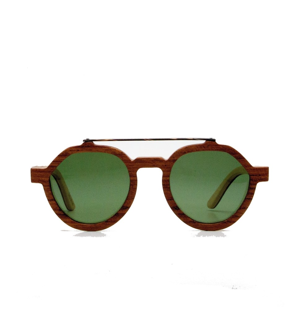 Ξύλινα Γυαλιά Ingrid in Bubinga