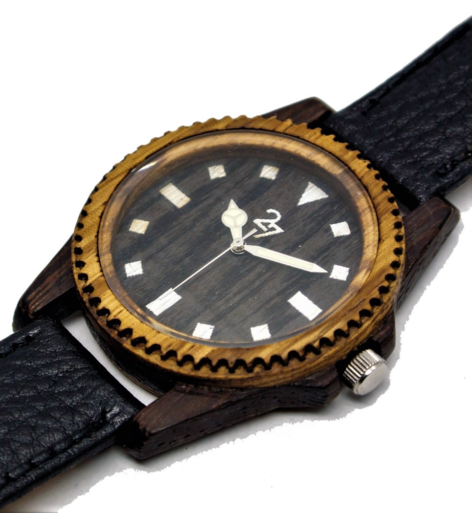 Yatch42 in Wenge and Zebrano